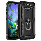 For LG Journey LTE / Tribute Royal Stand Case Cover With Glass Screen Protector