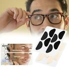 4 Pairs Half Moon Shape Carded Soft Foam Cushion Stick-on Hot Nose Pads F9d4