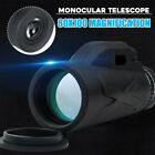Outdoor Day&Night Vision 80X100 HD Optical Monocular Hunting Hiking Telescope NE image