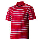 New Grand Slam Men's Classic-Fit Striped Short-Sleeve Core Performance Golf Polo