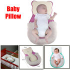 Portable Anti-Rollover Baby Pillow Breathable Sleep Cushion Pad Nest Bed Mattres