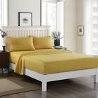 4 Piece bed sheet set Deep Pocket Sheets Queen King Size bed fitted sheet