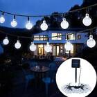 UK Solar Garden LED String Fairy Lights Wedding Party Festoon Ball Bulbs Lamps A