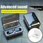 Wireless Bluetooth  Earbuds Headsets Earphones 5.0 TWS Stereo Mini IPX7