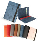 Leather Ultra-thin Travel Cover Case Passport Holder Passport Bag RFID Wallet