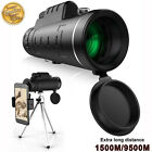 Outdoor Day&Night Vision 40X60 HD Optical Monocular Hunting Hiking Telescope NEW image