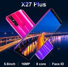 "5.8"" 9.1 Android Unlocked Cheap Mobile Smart Phone Dual Sim 4 +64gb Smartphone"
