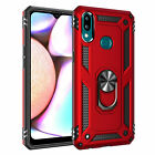 For Samsung Galaxy A20s Case Shockproof Hybrid Magnetic Ring Kickstand Cover