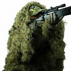 Ghillie Suit 3D 4pc with Bag Camouflage Tactical Hunting Forest Woodland ML Size