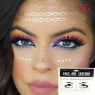 Beauty Bronzing Freckles Temporary Body Art Gold Face Tattoo Stickers
