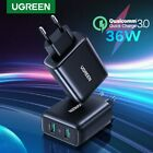 Ugreen 36W Fast Quick Charge QC 3.0 Dual USB Wall Charger Adapter Fr Samsung S10