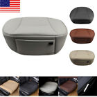 US Car PU Leather Front Seat Cover Breathable Protector Chair Cushion Pad Mat 3D $29.99 USD on eBay