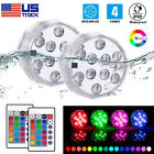 10 LED Submersible Light RGB Remote Underwater Swimming Pool Wedding Party Vase $14.98 USD on eBay