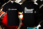 NEW Lexus FTD Apparel Boost Engine Car Racing JDM Logo T-Shirt USA Size S - 2XL