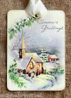 Hang Tags SEASON GREETINGS CHRISTMAS CHURCH TAGS or MAGNET 694 Gift Tags