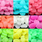 1000pc Glow In The Dark Stones Pebbles Rock Aquarium Fish Tank Garden Walk Deco