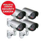 ANNKE Bullet Fake Dummy Security Camera Outdoor Flashing Red LED Surveillance