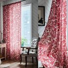 Ethnic Boho Curtains Window Curtain Baroque Cotton Linen Living Bedroom Drapes
