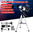 70Mm Refractor Telescope W Tripod & Finder Scope Portable For Kids Astronom H image