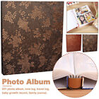 600 Pockets 6 Inch PU Leather Home Decor Photo Album Family Interleaf Type Gifts