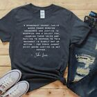 JOHN LEWIS SHIRT CIVIL RIGHTS QUOTE RACIAL JUSTICE EQUALITY EQUAL RIGHTS T-SHIRT