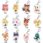 12 Styles Animal Keychain Cute Cartoon Animal Keyring Backpack Decor Us