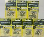 Spro Power Split Rings - Fishing Terminal Tackle Choose Size, Pound Test & Qty.