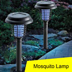 Control Insect Killer LED Zapper Solar-Powered Anti-Mosquito Light Garden Lamp