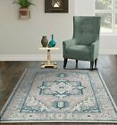 Traditional Area Rugs for Living Room Indoor/Outdoor Patio 8x11 Rugs 5x7 Carpet