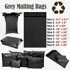 GREY MAILING BAGS PARCEL POSTAL SACKS ENVELOPES MAIL POST BAG ALL PACKS / SIZES