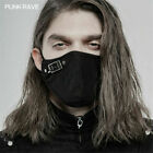 PUNK RAVE Personalized Black Steampunk Men's Accessories Gothic Cosplay Mask