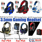 Gaming Headset Stereo Surround Headphone 3.5mm Wired Mic For PS4 Laptop Xbox mc