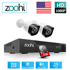 Home Security Camera System CCTV 1080P HD 4CH DVR HDMI Outdoor 1TB Night Vision