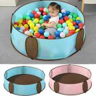 Baby Playpen Round Polyester Activity Supplies Safety Barrier Dry Pool Portable