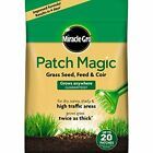 Miracle-Gro Patch Magic Grass Seed COIR Feed Coir SHAKER 1.5kg 20 patches UK