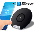 Cargador Inalambrico Compatible Para iPhone Samsung S10 S9 Qi Wireless Charger