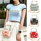 Fashion Women Marguerite Clear Jelly Tote Bag Chain Crossbody Shoulder Pouch Eag