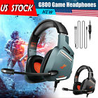 For Xbox One/ PS4/ PSP/PC Gaming Headset with Mic Stereo Surround Headphones USB