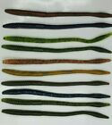 Nimrod's Tackle 6 INCH FINESSE WORMS 15 Per Pack Made in USA
