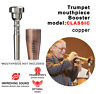 More images of Trumpet Mouthpiece Booster KGUBrass. CLASSIC CUSTOM. Antique Cooper Lacquer