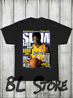 Kobe Bryant Born Again Slam Magazine Cover T Shirt Black Mamba Basketball