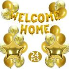 Welcome Home Letter Balloon Banner Star Sequin Balloons Party Decoration Brand