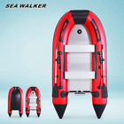Seawalker Inflatable Fishing Boat,with Aluminum Floor 0.9mm Pvc,4 Colors, 5sizes