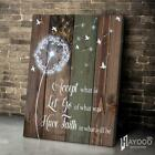 Dandelion Andelion Poster No Frame/Canvas 0.75 in