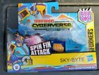 Transformers Cyberverse Power Spark  JAZZ, MEGATRON, BUMBLEBEE, HOT ROD & SKY-BY