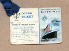 Hang Tags VINTAGE TITANIC SHIP TICKET TAGS or MAGNET 431 Gift Tags