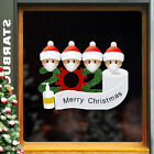 New Pvc Face Cover Santa Claus Waterproof Xmas Wall Sticker Home Decoration