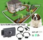 Underground Electric Dog Fence System Waterproof Shock Collars For 2 /3 Dogs