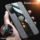 For Samsung Galaxy S20 Fe 5g Slim Ring Stand Holder Rubber Back Phone Case Cover
