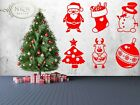 Set Of Christmas Decoration Stickers Wall Window Door Business Home Store Shop